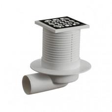 Трап канализационный ОриоТО-3110,(реш 10*10 пласт) гориз,регул.20