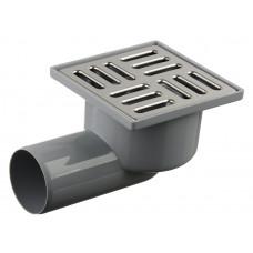 Трап канализационный Ду 50 (реш 10х10 нерж), вертик