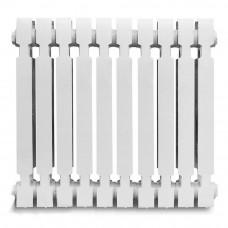 Радиатор чугунный KONNER модерн 500, (10 секций) (с ком), без кронштейнов