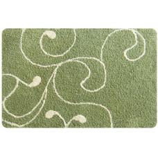 Коврик для ванной комнаты IDDIS 60*90 412M690l12 Flower Lace.green