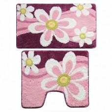 Набор ковриков для ванны Milardo 50х80 50х50 360РА68М13