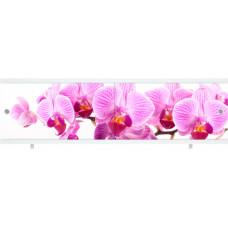 Экран для ванны Ультра легкий АРТ 1.48м Дикая орхидея