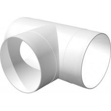 Тройник Т-образный пластик D100 10ТП