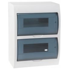 Щит распределительный навесной ЩРн-п-24пластиковый ip40 прозрачная дверь (етм9741584)
