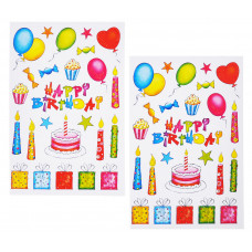 Декорстикер День рождения 47х67