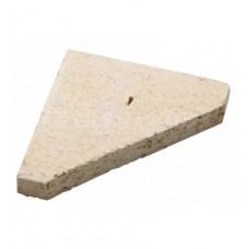 Шамотный камень ША 91-12(120*95*20треуг) Прометей 12-45кВт