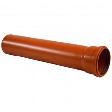 Труба канализационная раструбная 160*1000 (наружняя)