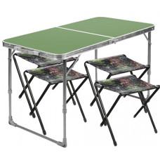 Набор стол+стулья ССТ-К2/6 Дубовые листья