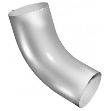 Колено стока бортик 90мм белый RAL 9003