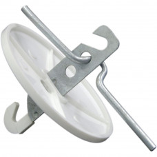 Розетка потолочная РП-1 белая
