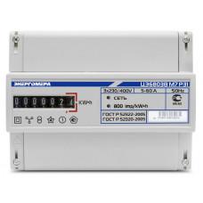 Счетчик электроэнергии трехфазный однотарифный ЦЭ6803В Тр/5 Т1 D кл1 М7 Р31 220/380В ОУ