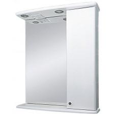 Шкаф-зеркало правый АСТРА-50 (свет)