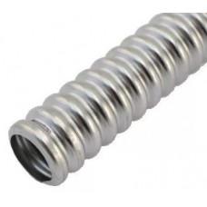 Труба гофрированная нержавеющая Ду 20, термообработка, Lavita/бухта 30м.HF20