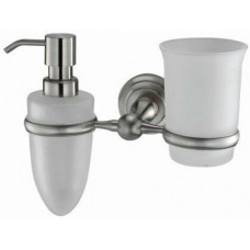Держатель стакана и дозатора К-7089 сатин WasserKRAFT