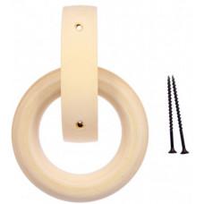 Ручка дверная кольцо, липа, 115мм Банные штучки