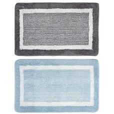 Коврик VETTA для ванны двухцветный, микрофибра, 50x80см, 2 цвета
