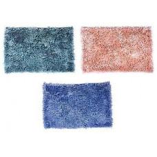 Коврик VETTA для ванны синель, 40х60см, ворс 3,5см, Перламутр, 3 цвета